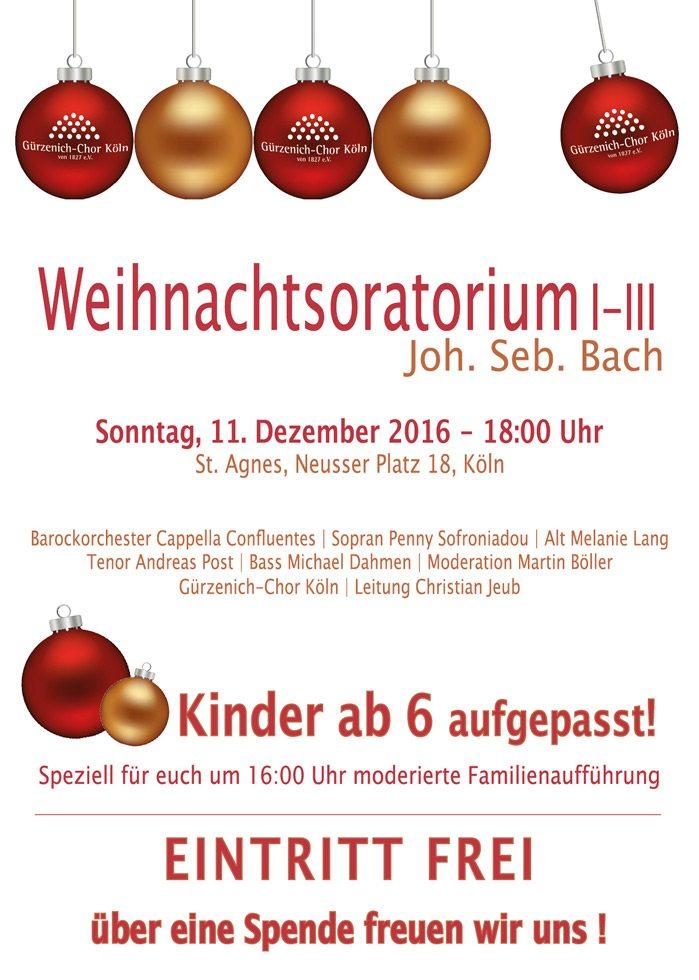 Joh. Seb. Bach: Weihnachtsoratorium I-III